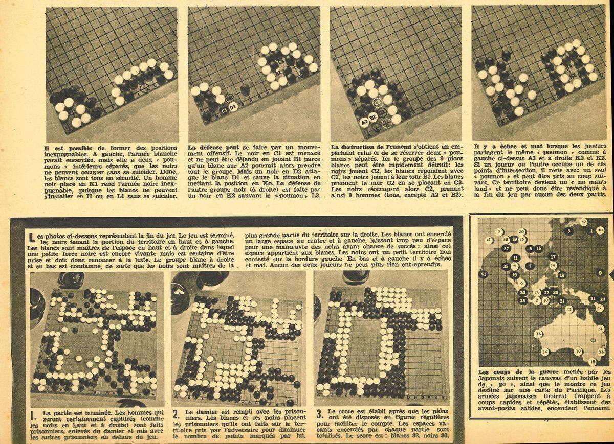 articles de journaux sur le jeu de go